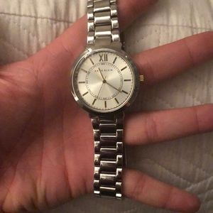 Silver Anne Klein Watch NWOT
